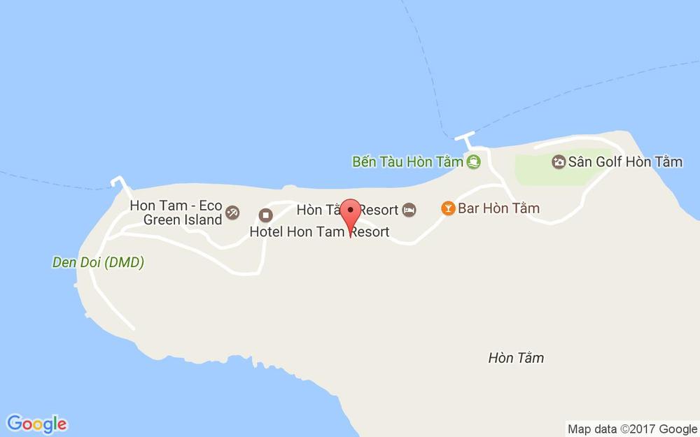 Vị trí bản đồ Hòn Tằm Tp. Nha Trang Khánh Hoà