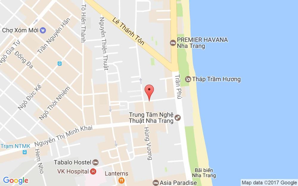 Vị trí bản đồ Gian hàng 22A, Phố đi bộ  Tp. Nha Trang Khánh Hoà