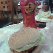 Burger gà