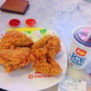 4 miếng gà thường và pesi size m