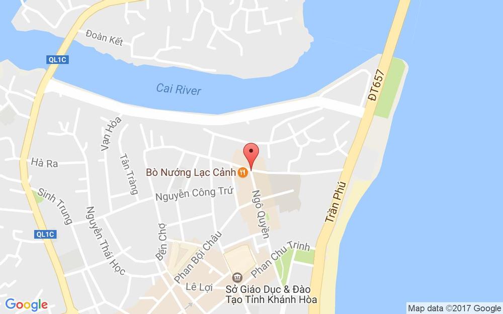 Vị trí bản đồ Ngô Quyền Tp. Nha Trang Khánh Hoà