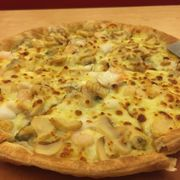Seafood Pesto, Thin Crust