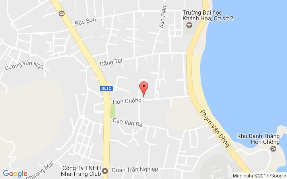 Vị trí bản đồ 3 Hòn Chồng Tp. Nha Trang Khánh Hoà