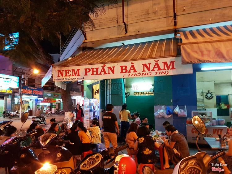 Nem Nướng Cuốn Sẵn - Thống Nhất ở Khánh Hoà