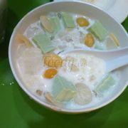 Chè khúc bạch trà xanh bạch quả