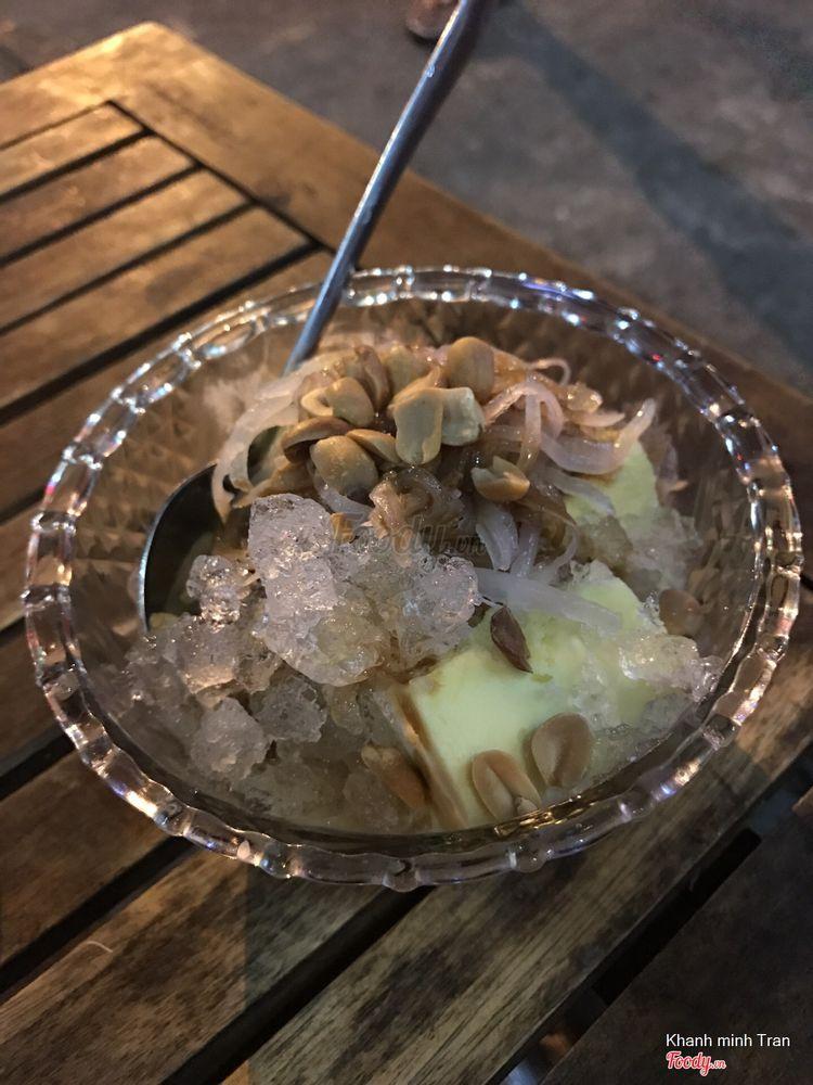 Bánh flan + kem sầu riêng