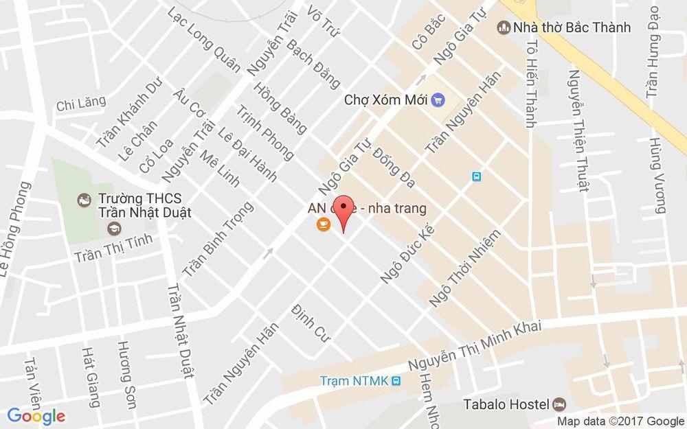 Vị trí bản đồ 47 Lê Đại Hành Tp. Nha Trang Khánh Hoà