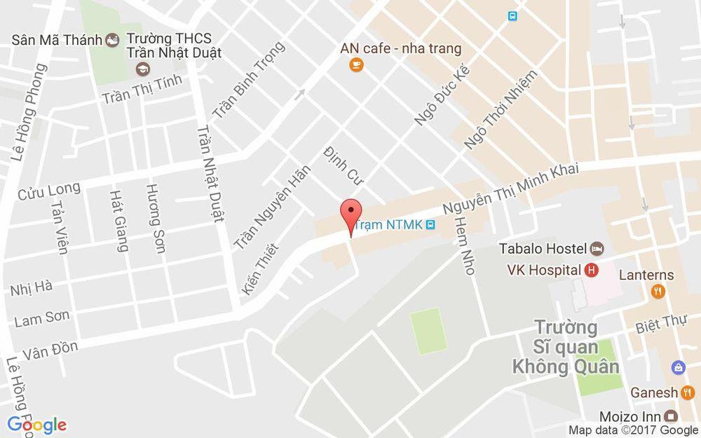 Vị trí bản đồ 111 Nguyễn Thị Minh Khai Tp. Nha Trang Khánh Hoà