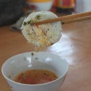 Bánh căn trứng cút