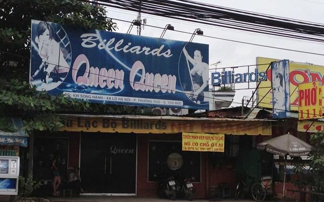 CLB Billiards Queen Queen