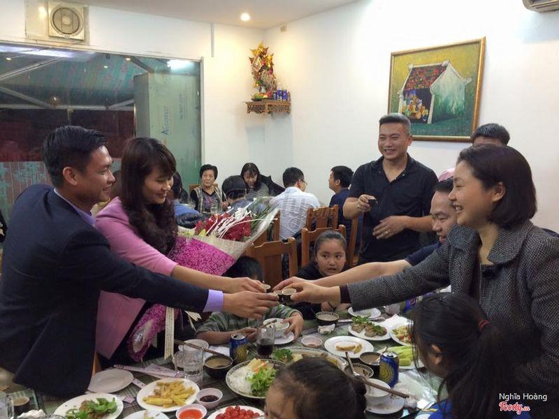 Tổ chức tiệc mừng sinh nhật tại ngư Quán