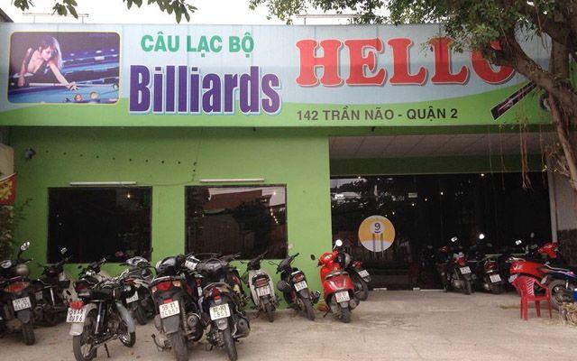 CLB Billiards Hello