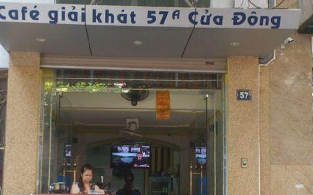 57A Cửa Đông Cafe & Giải Khát