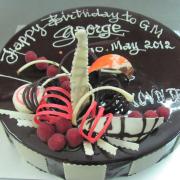 Bánh Chocolate Cake
