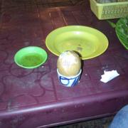 Trứng và nước chấm