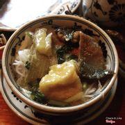 Eel Tofu Soup with Bun