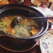 Eel Tofu Soup