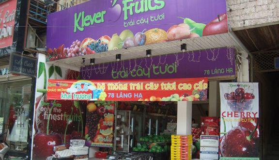 Klever Fruits - Trái Cây Tươi - 78 Láng Hạ