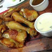 gà nướng truyền thống 2 loại sốt