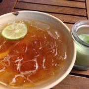 Trà chanh, yaourt trà xanh
