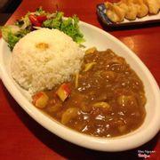 Curry seafood, vị như mùi gia vị mì tôm nẻn mình không thích lắm