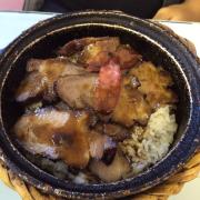 Cơm thịt sốt bbq