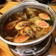 Lẩu kim chi mì udon
