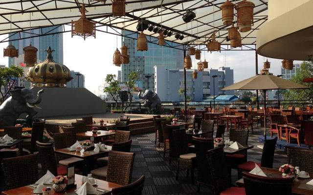 Rooftop Garden - Rex Hotel