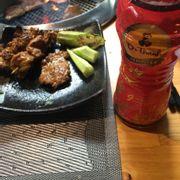 thịt heo nướng mè