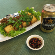 Đậu hủ red house<a class='hashtag-link' href='/ho-chi-minh/hashtag/sapporopremiumbeer-188774'>#SapporoPremiumBeer</a>