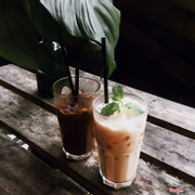 Ice Tea + Cafe sữa