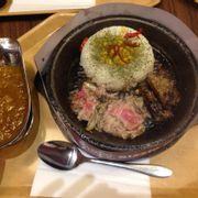 Cơm bò + curry