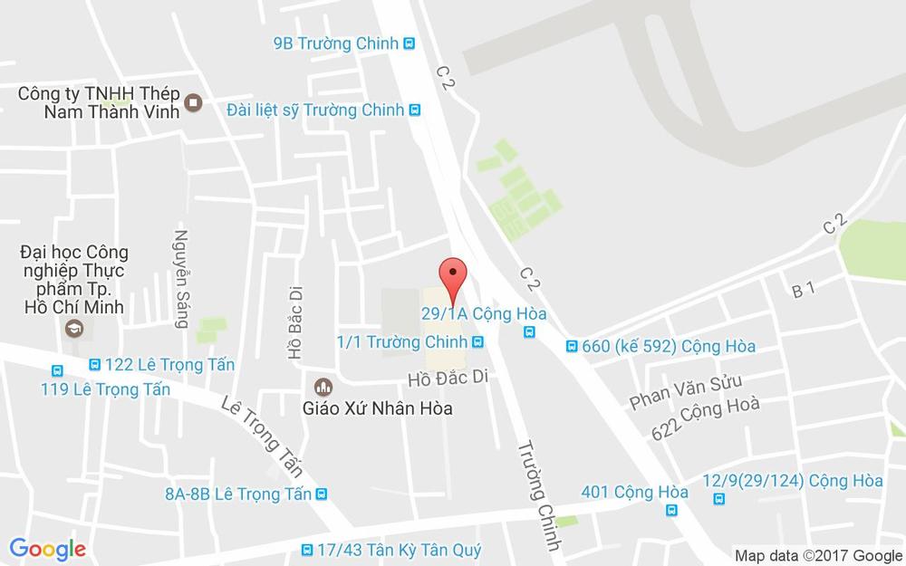 Vị trí bản đồ CGV Cinemas - Food Court Pandora City ở TP. HCM