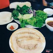 Bánh tráng thịt heo Đại Lộc