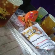 Trà sữa Da Vic - Bánh trứng non HongKong - Takoyaki