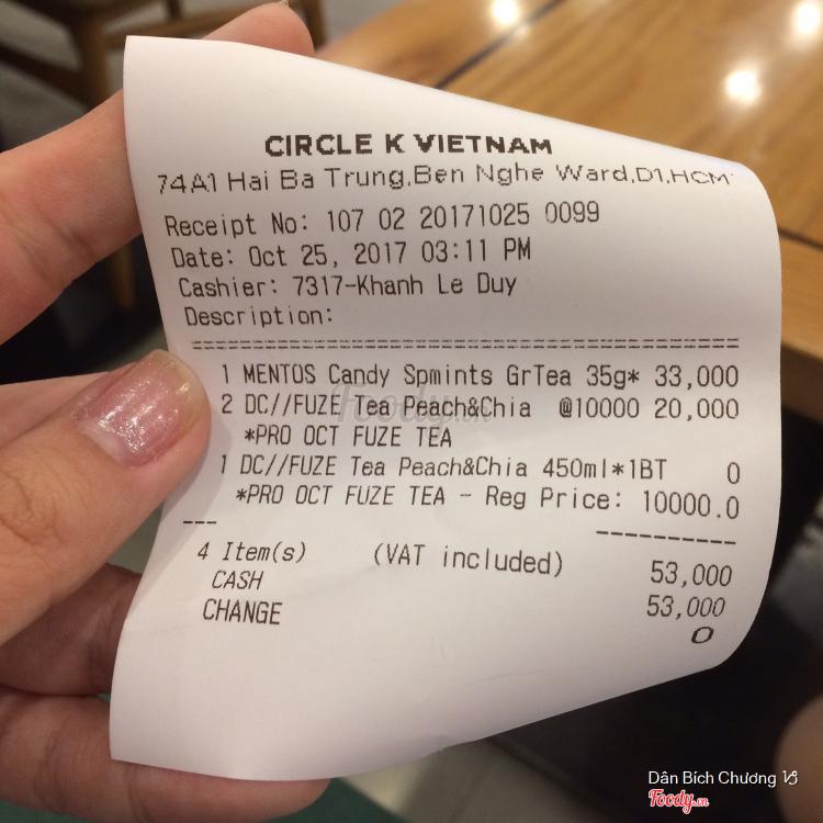 Circle K - Hai Bà Trưng ở TP. HCM