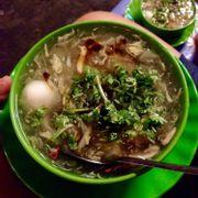 Chén súp không trứng bắc thảo