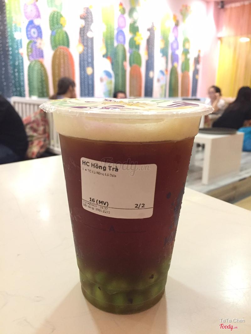 Hồng trà thạch củ năng
