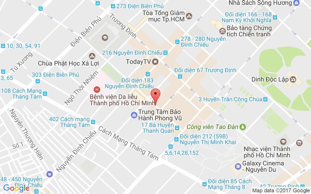 Vị trí bản đồ 31 Bà Huyện Thanh Quan Quận 3 TP. HCM