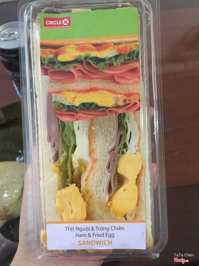 Sandwich thịt nguội & trứng chiên