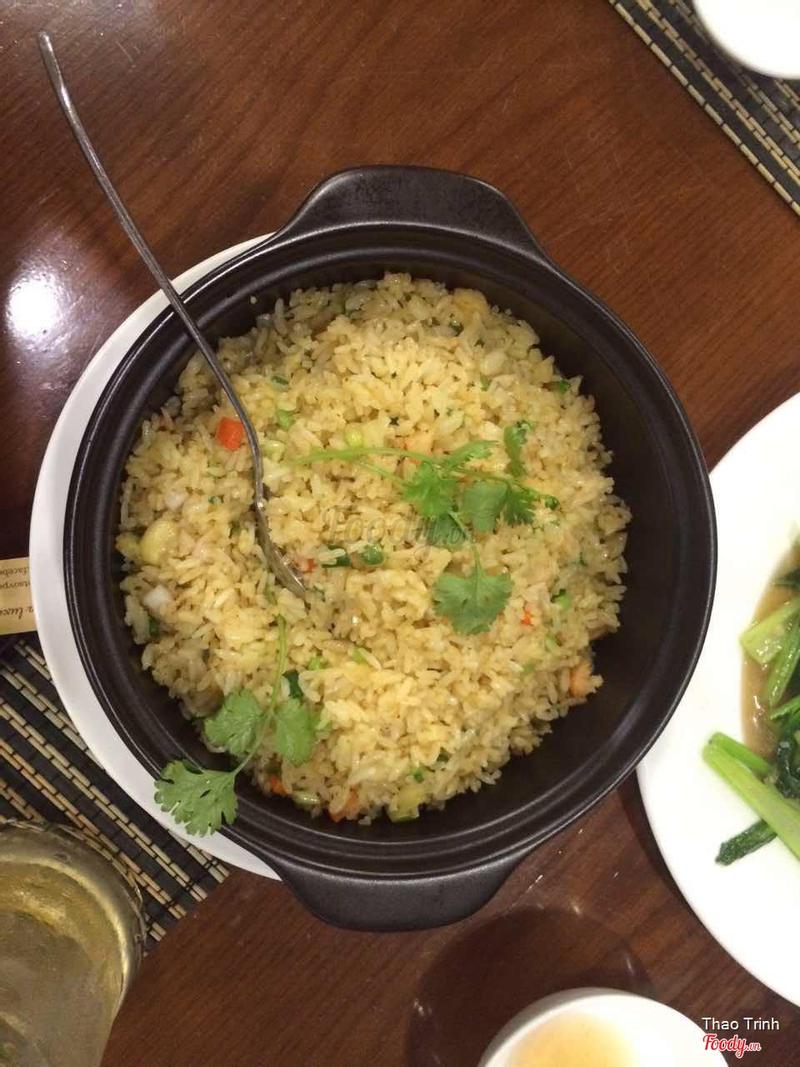 Ăn tối: Cơm chiên kiểu Thái