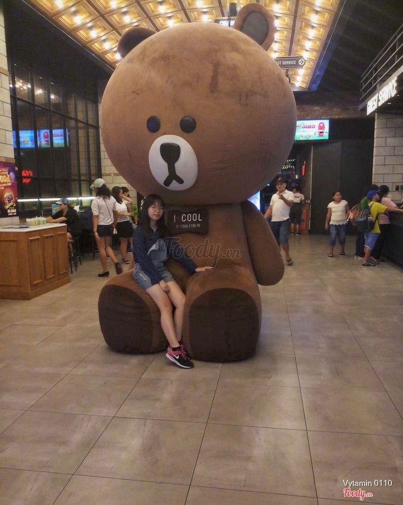 Bé gấu bao cưng