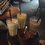 Cà phê dừa , cacao nóng