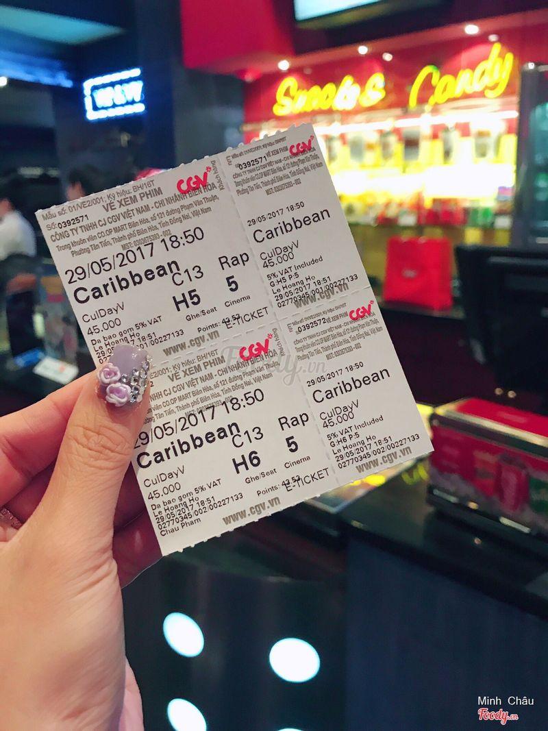 Vé xem film