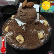 Bingsu chocolate mát lịm