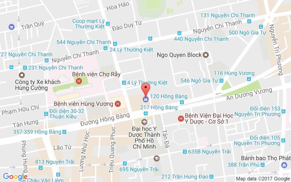 Vị trí bản đồ Tầng 3, Parkson Hùng Vương, 126 Hùng Vương, P. 12 Quận 5 TP. HCM