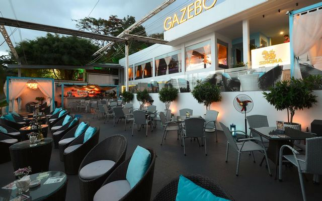 Gazebo Beach Front Lounge & Cafe