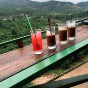 Cà phê ở mê linh garden