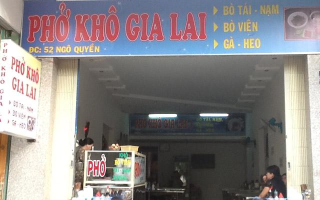 Phở Khô Gia Lai - Ngô Quyền