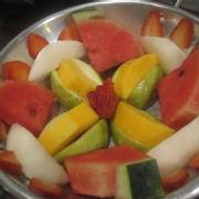 chảo trái cây